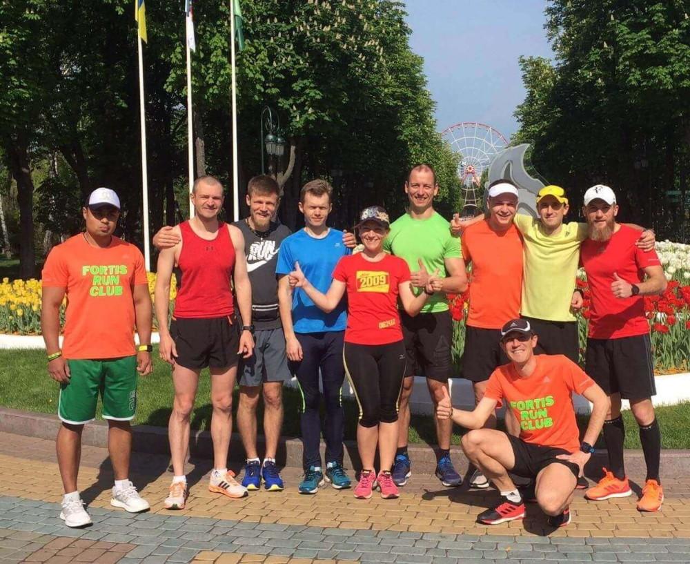 біговій клуб Харків