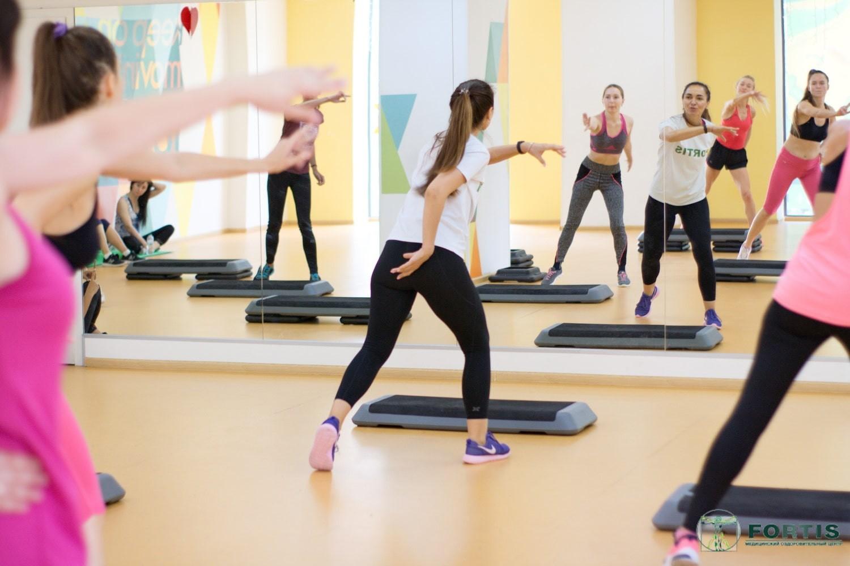 Интенсивная фитнес тренировка